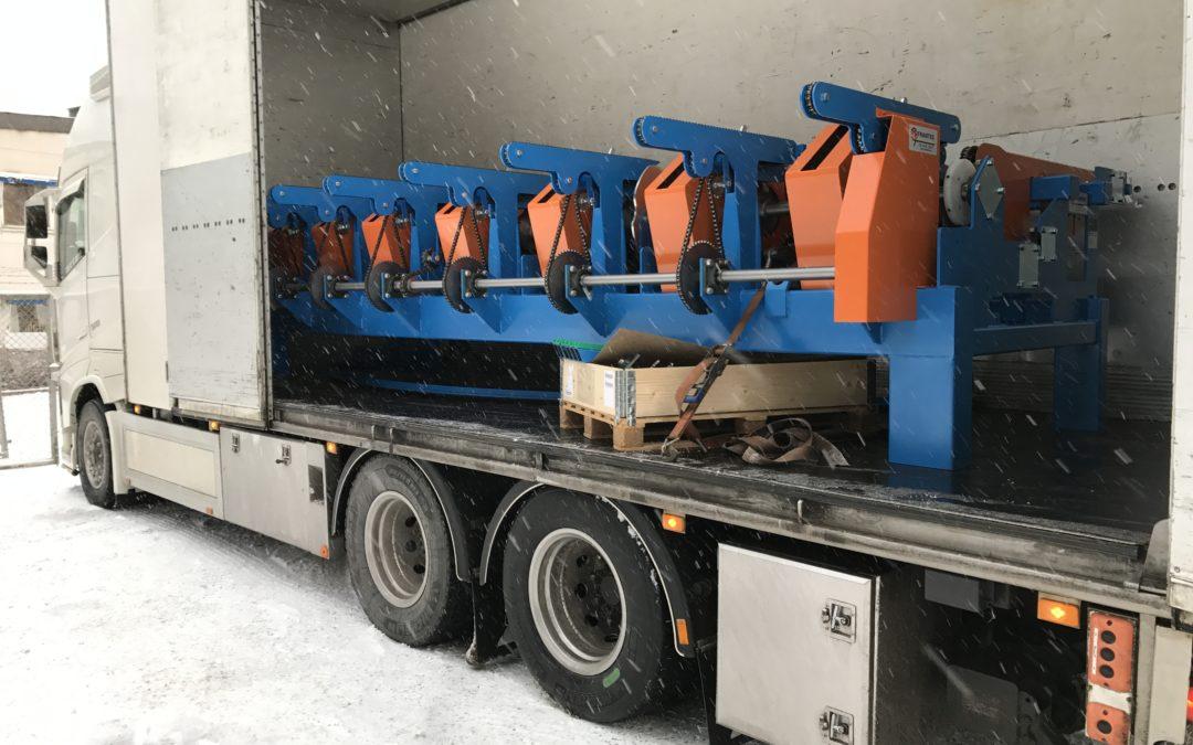 Lastning i snön
